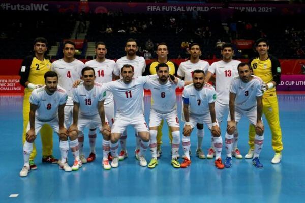 فوتسال ایران در پی سی امین و مهم ترین پیروزی مقابل ازبکستان